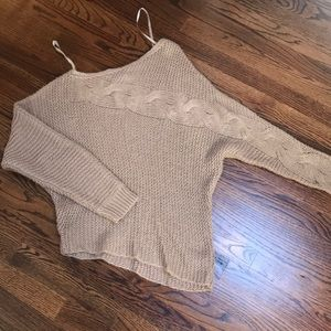 Authentic Jessica Simpson asymmetrical sweater